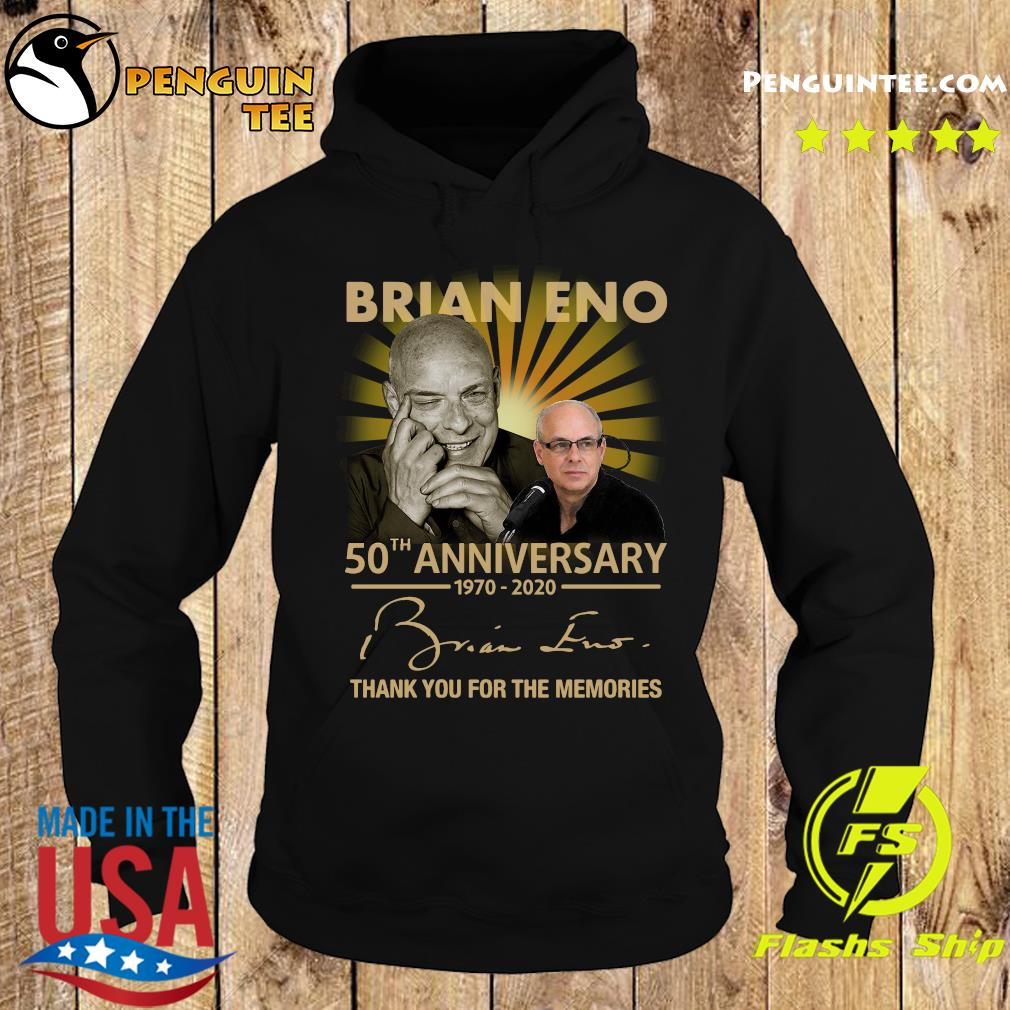 Brian eno 50th anniversary 1970 2020 thank you for the memories signature s Hoodie