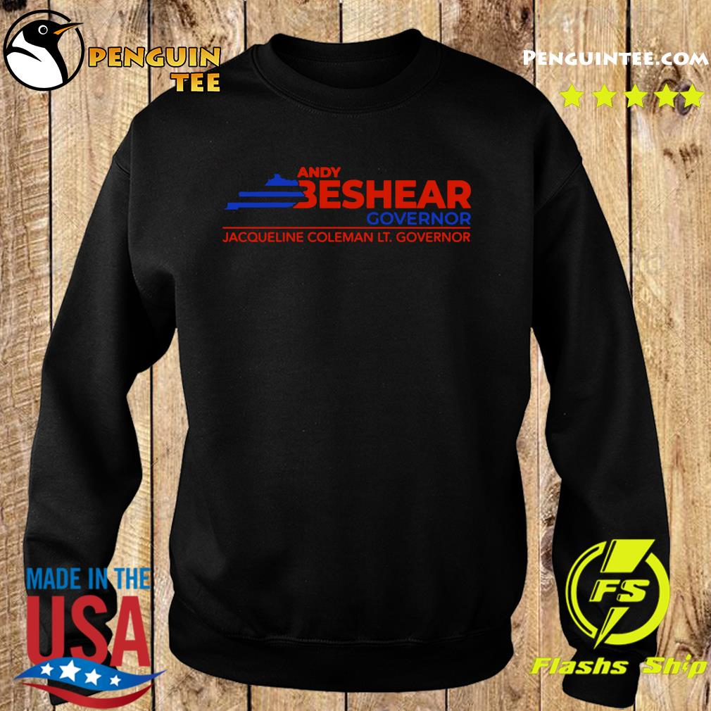 Andy Beshear Governor Jacqueline Coleman Lt Governoir Shirt Sweater