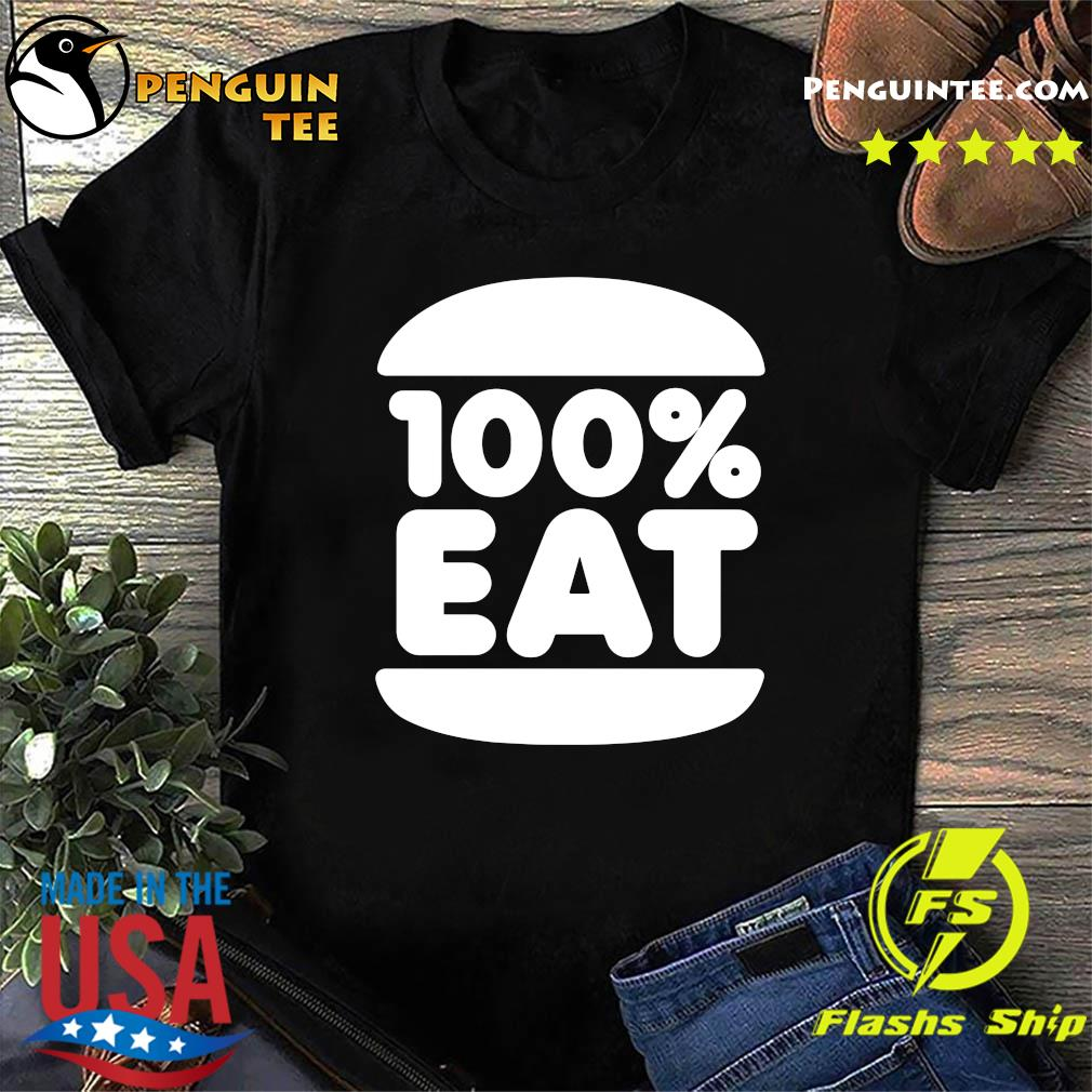 Face Jam 100 Percent Eat T-shirt
