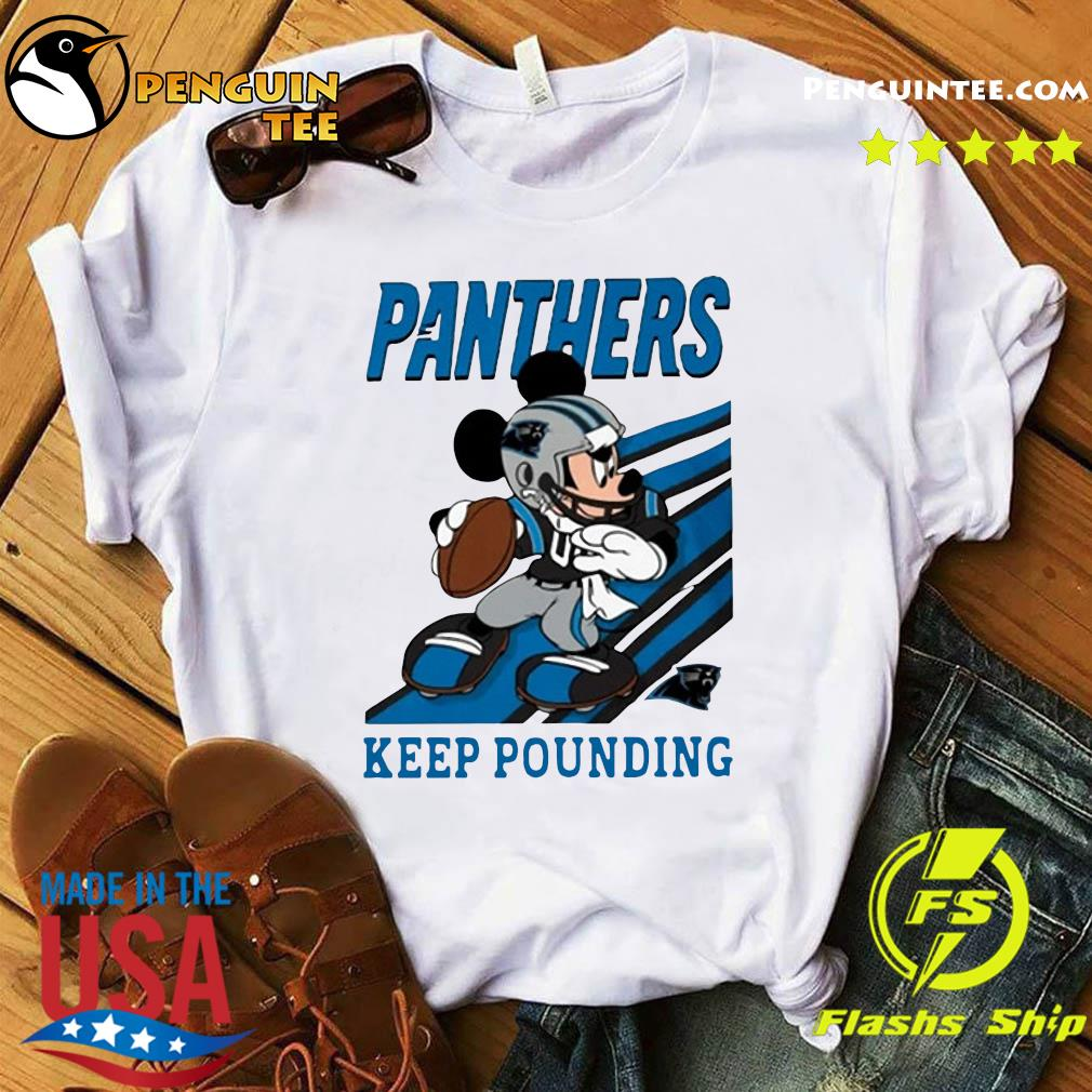 Keep Pounding Mickey Mouse NFL T-Shirt