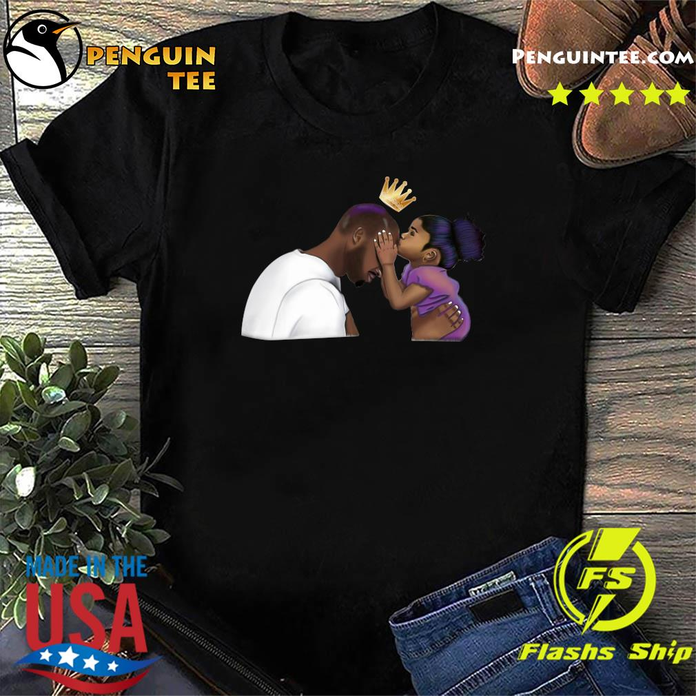 Father's Day Kobe Bryant And Gianna Bryant Shirt