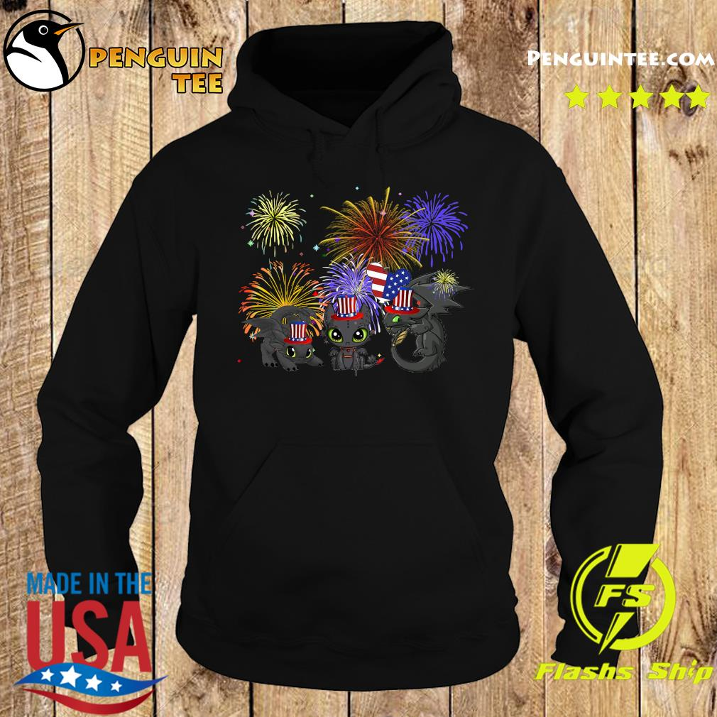 Night Fury American Flag 4th Of July Independence Day Shirt Hoodie