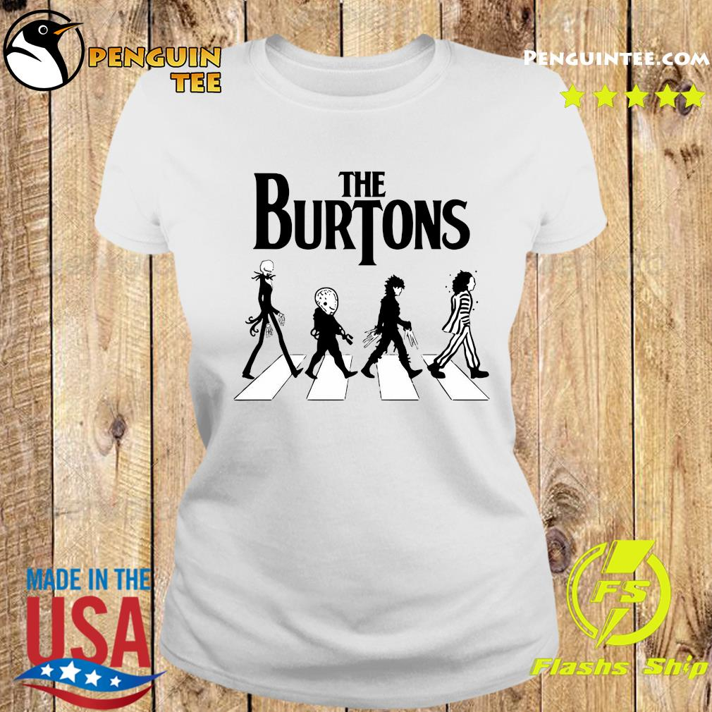 The Burtons Abbey Road Shirt Ladies tee